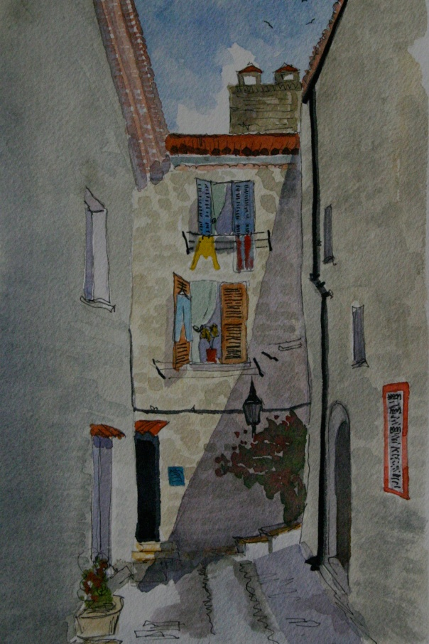 A street in St Paul de Vence
