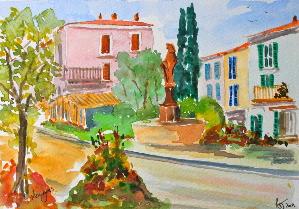 A sunny day in Mougins