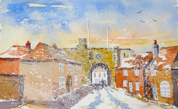 Rye in Kent at Christmas