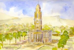 St Anne's Church in Belfast in 1869