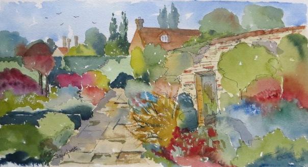 Sissinghurst gardens